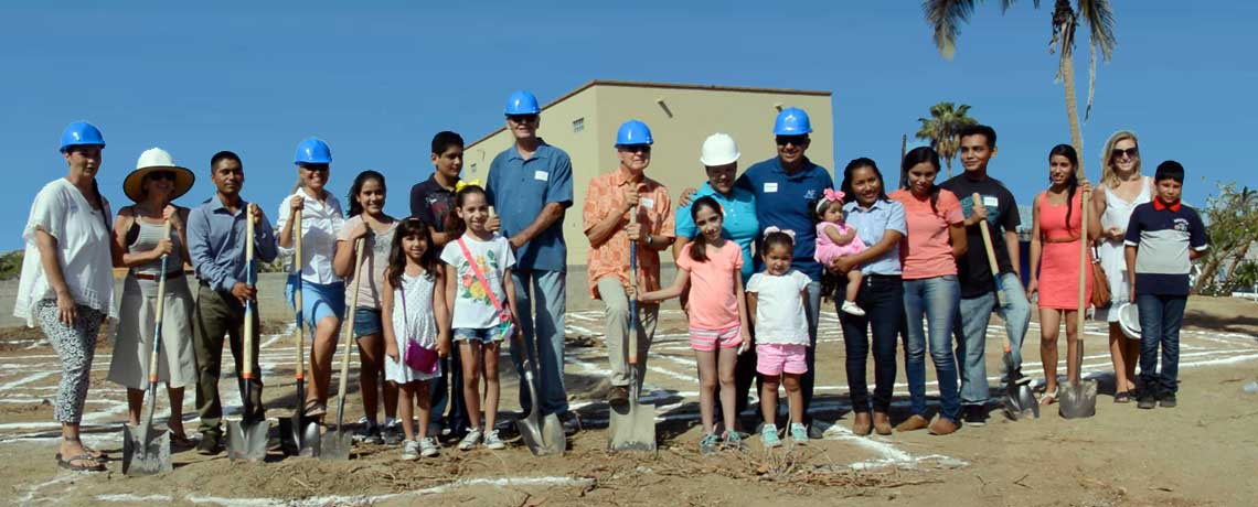 Groundbreaking for The Palapa Learning Center