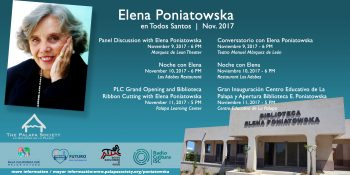 Palapa Learning Center Grand Opening and Elena Poniatowska