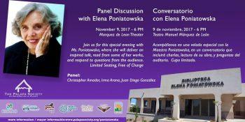 Panel Discussion Elena Poniatowska