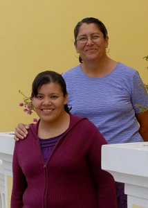 Karla and her mother, Sra. Evangelina