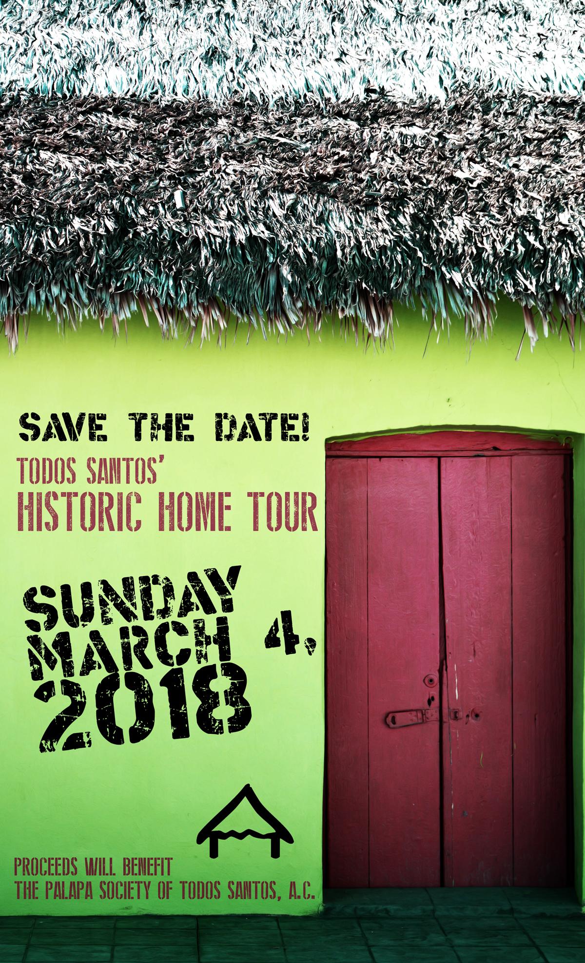 Todos Santos Historic Home Tour – Sunday, March 4, 2018