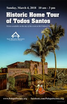 2018 Historic Home Tour of Todos Santos
